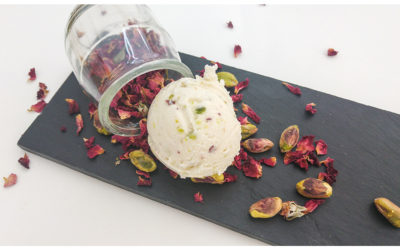 New Yogurt Rose with Pistachio.